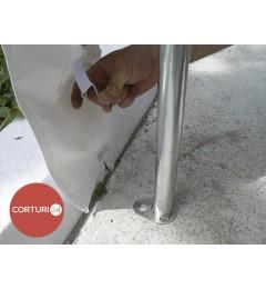Cort evenimente 3x3 m, PVC Economy