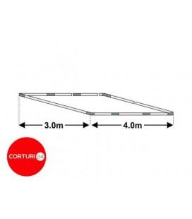 Cadru bază cort 3x4m