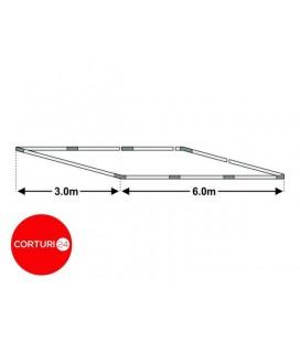 Cadru bază cort 3x6m