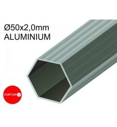 3x4,5 m Pavilion Pliabil Professional Aluminiu 50 mm, cu 6 ferestre, PVC 620 gr /m², alb, ignifug