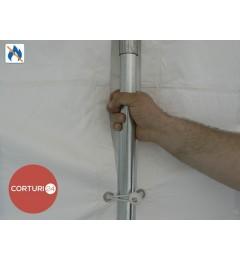 Cort evenimente 3x8 m, PVC ignifug Economy
