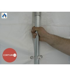 Cort evenimente 3x10 m, PVC ignifug Economy