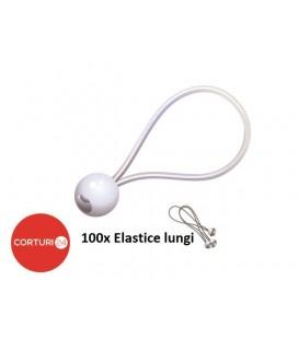Set 100  întinzătoare elastice lungi